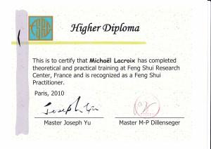 Michael Lacroix spécialiste en feng shui